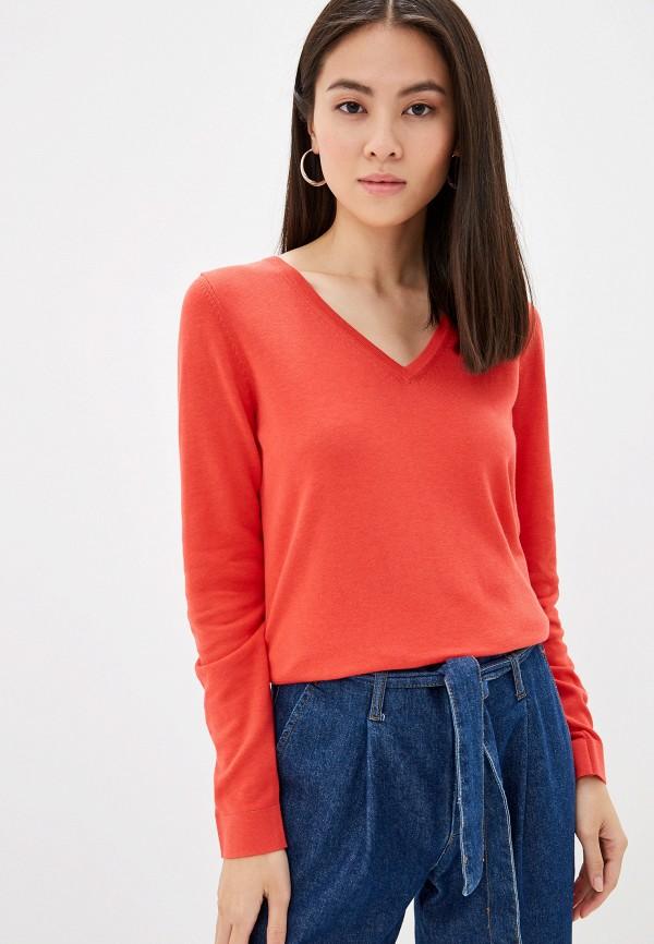 Фото - Женский пуловер s.Oliver кораллового цвета