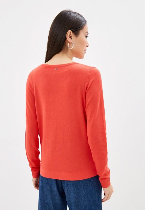 Фото 3 - Женский пуловер s.Oliver кораллового цвета