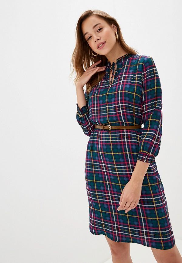 Фото - женское платье s.Oliver разноцветного цвета