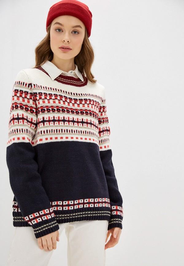 женский свитер s.oliver, разноцветный