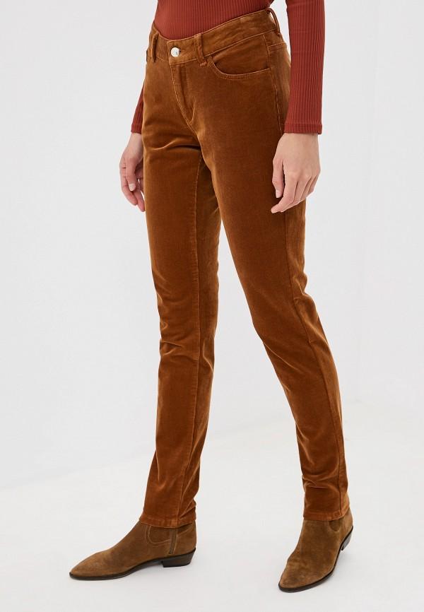 женские повседневные брюки s.oliver, коричневые