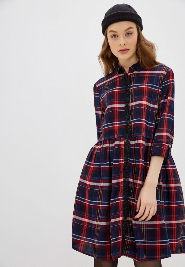 женское платье s.oliver, синее