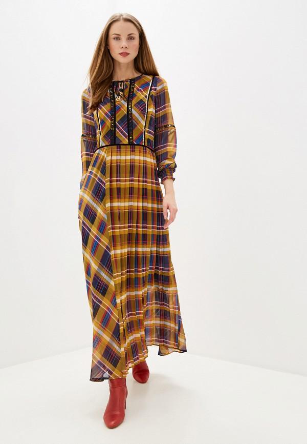 женское повседневные платье s.oliver, разноцветное