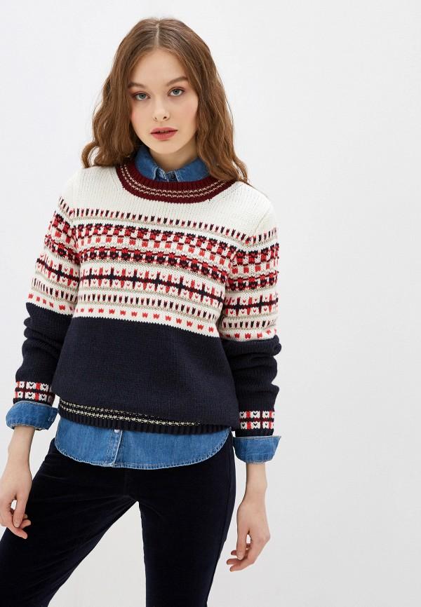 женский свитер s.oliver, синий