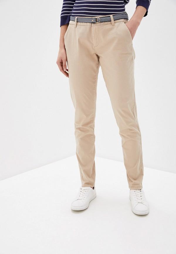 женские повседневные брюки s.oliver, бежевые