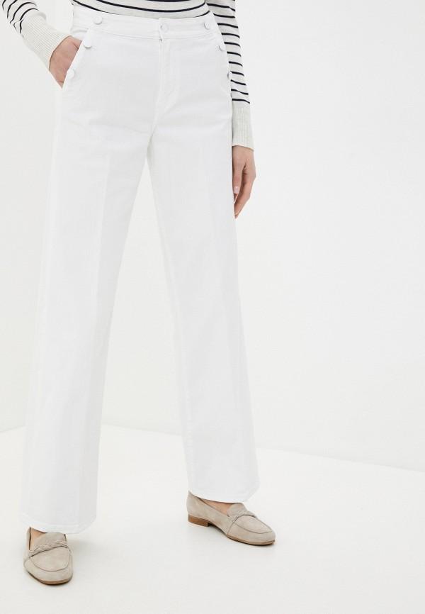 женские джинсы клеш s.oliver, белые