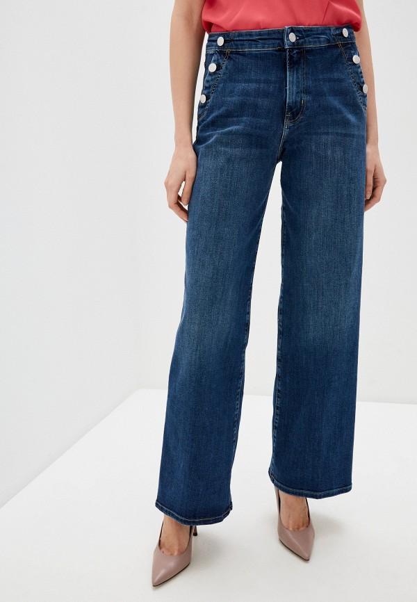 женские джинсы клеш s.oliver, синие