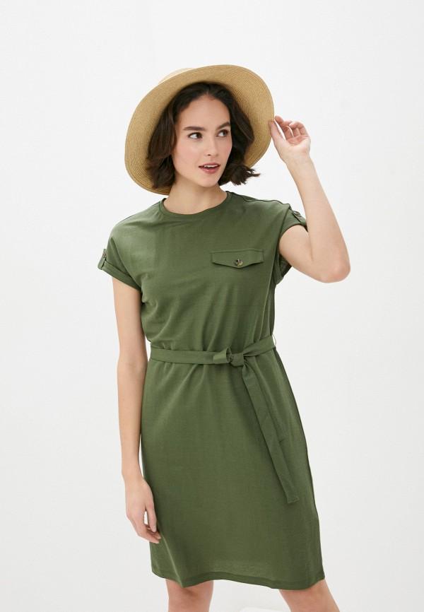 женское повседневные платье s.oliver, хаки