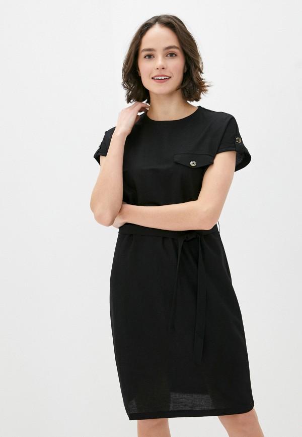 женское повседневные платье s.oliver, черное