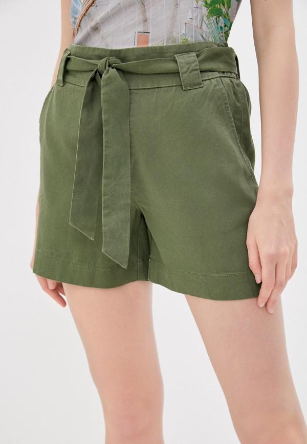 женские повседневные шорты s.oliver, хаки