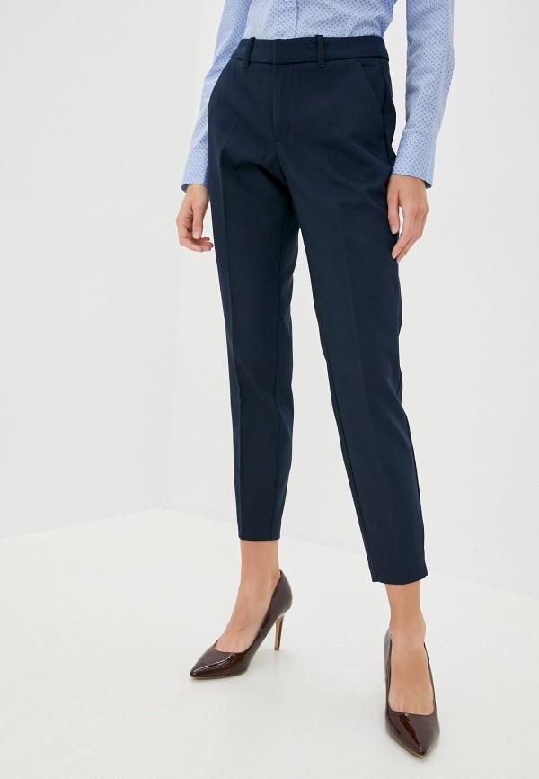 женские классические брюки s.oliver, синие