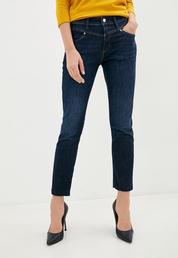 женские джинсы скинни s.oliver, синие