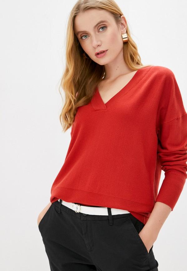женский пуловер s.oliver, красный
