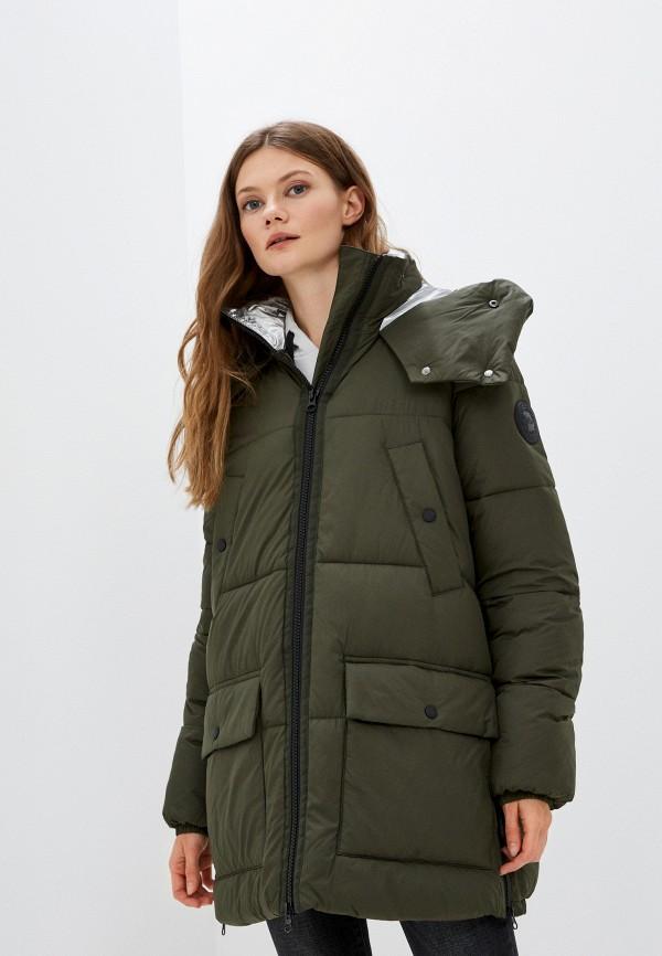 женская куртка s.oliver, хаки