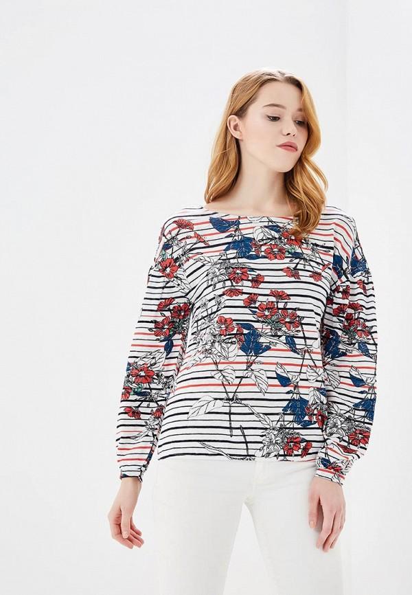 Купить Лонгслив s.Oliver, SO917EWZMD22, белый, Весна-лето 2018