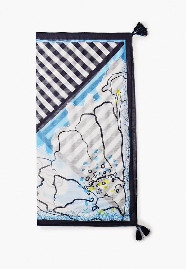 женский платок s.oliver, синий