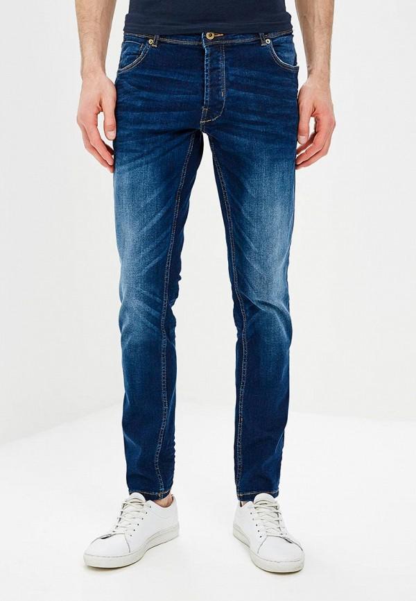 Купить мужские джинсы Solid синего цвета
