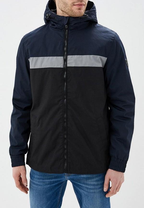 мужская куртка solid, синяя