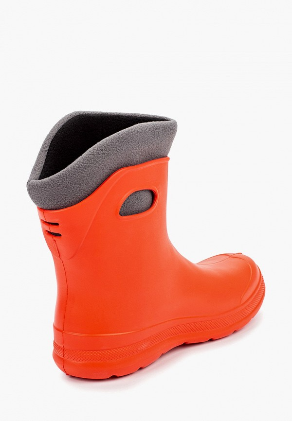 Фото 3 - Резиновые полусапоги Speci.All оранжевого цвета