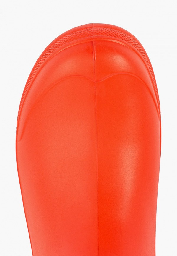 Фото 4 - Резиновые полусапоги Speci.All оранжевого цвета