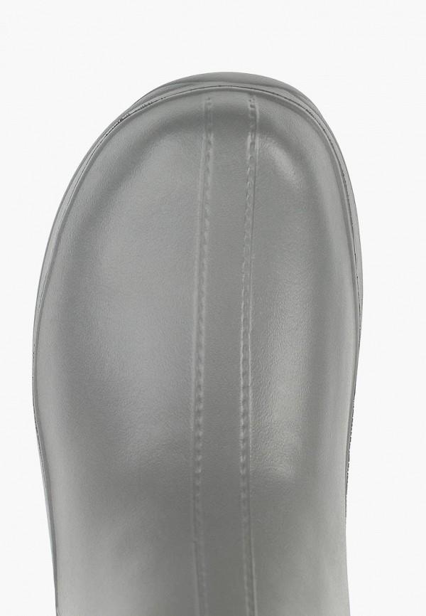 Фото 4 - Резиновые полусапоги Speci.All серого цвета