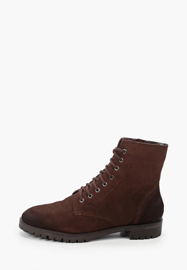 женские ботинки springfield, коричневые