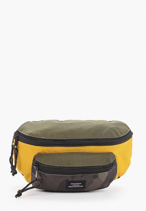 мужская сумка springfield, хаки