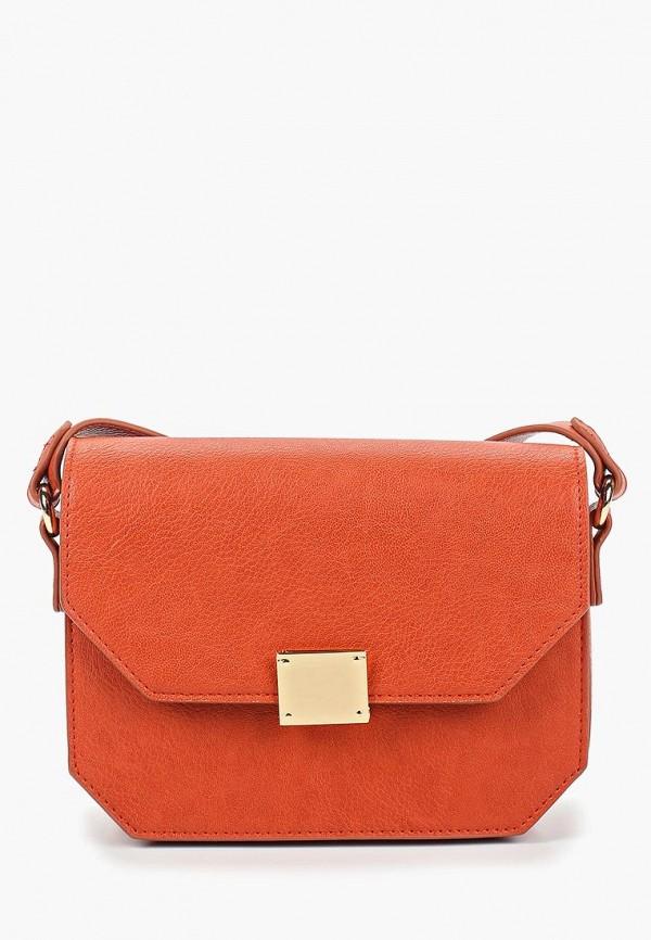 женская сумка springfield, оранжевая