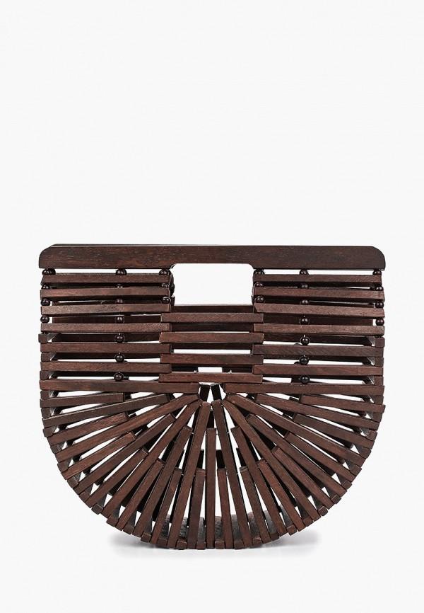 женская сумка springfield, коричневая