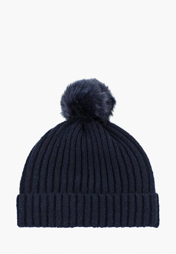 женская шапка springfield, синяя
