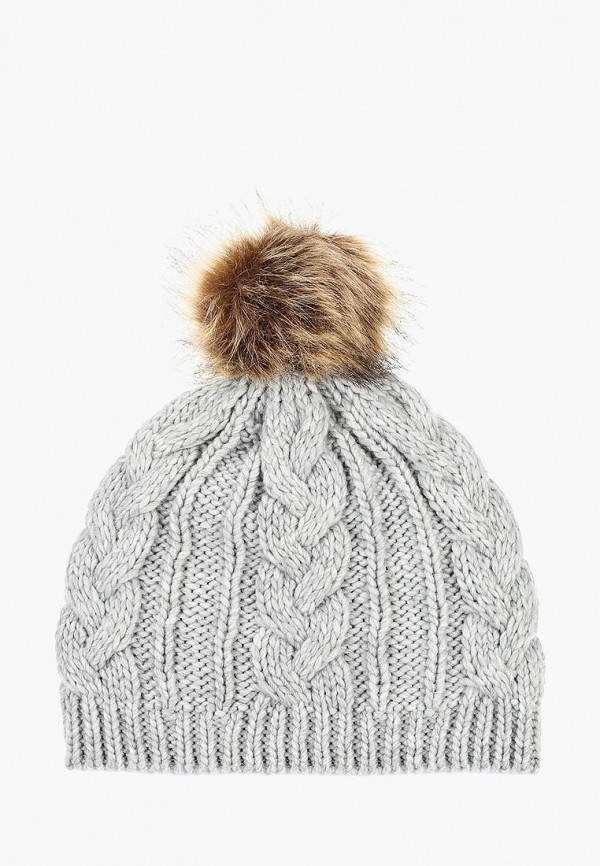 женская шапка springfield, серая