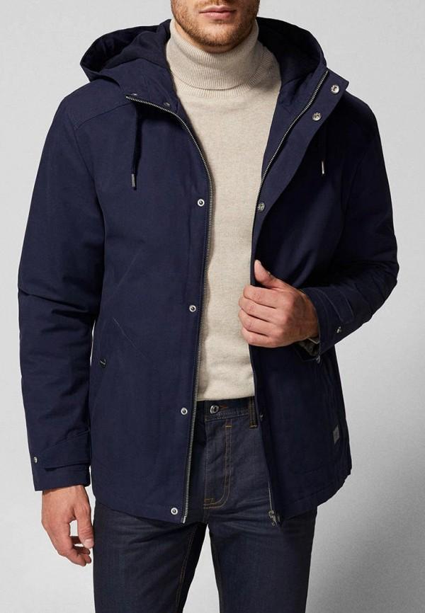 Купить Куртка утепленная Springfield, SP014EMCDCJ8, синий, Осень-зима 2018/2019
