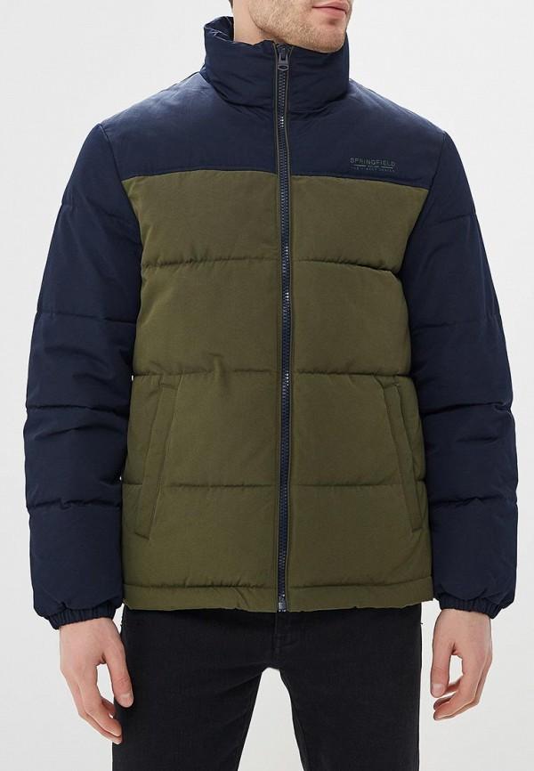Куртка утепленная Springfield Springfield SP014EMEABR4 springfield springfield sp014ewjas50