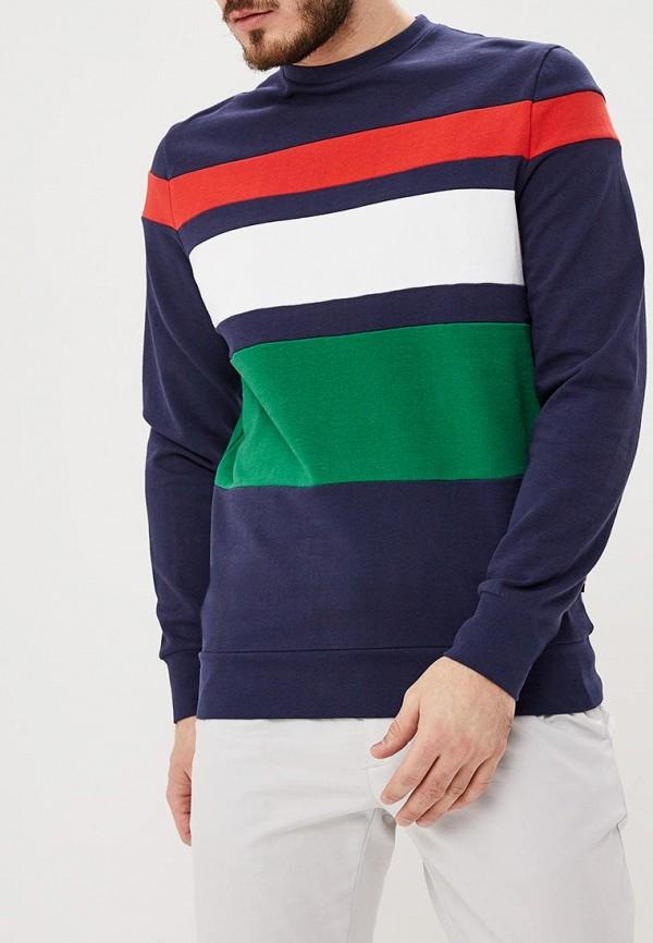 мужской свитшот springfield, разноцветный