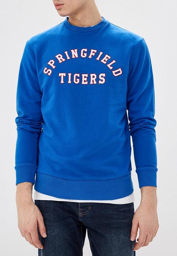 мужской свитшот springfield, синий