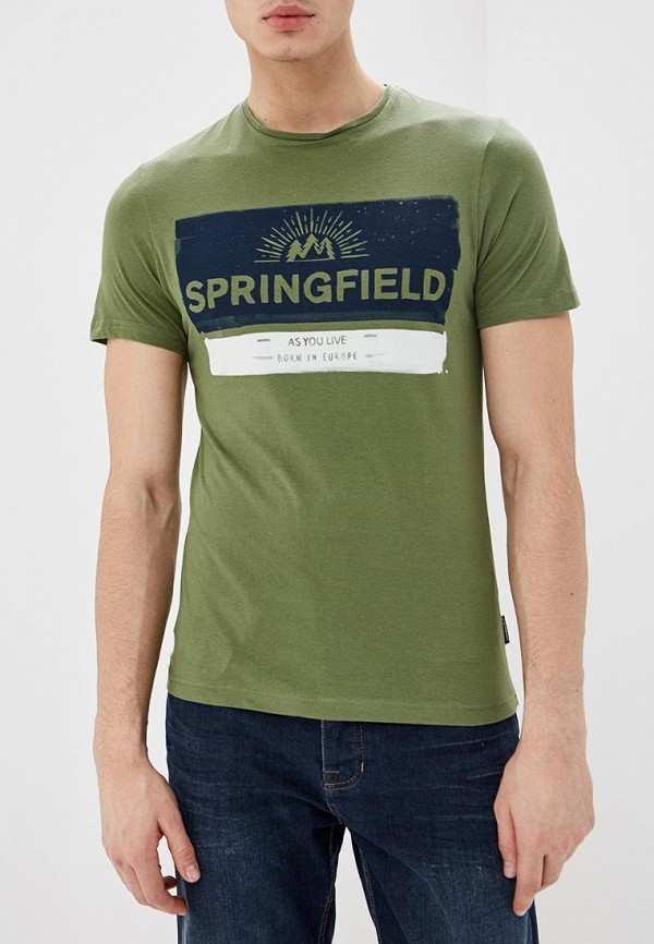 Футболка Springfield Springfield SP014EMEADJ8 футболка springfield springfield sp014emtcb17
