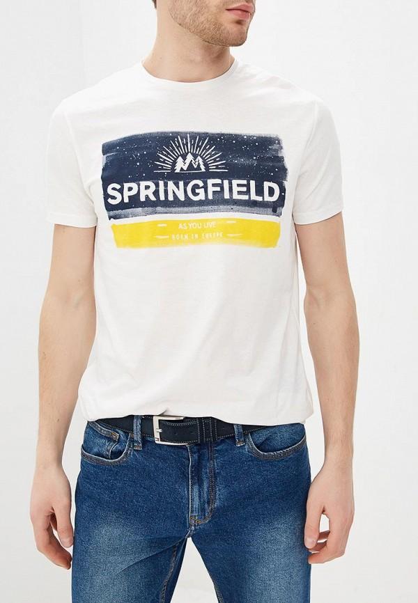 Футболка Springfield Springfield SP014EMEADK0 футболка springfield springfield sp014ewvge91