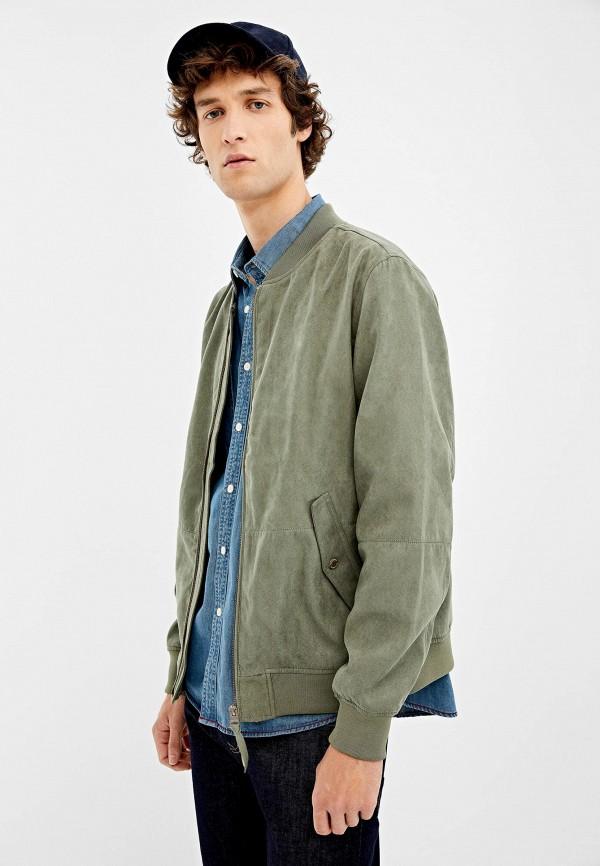 Купить Куртку Springfield зеленого цвета