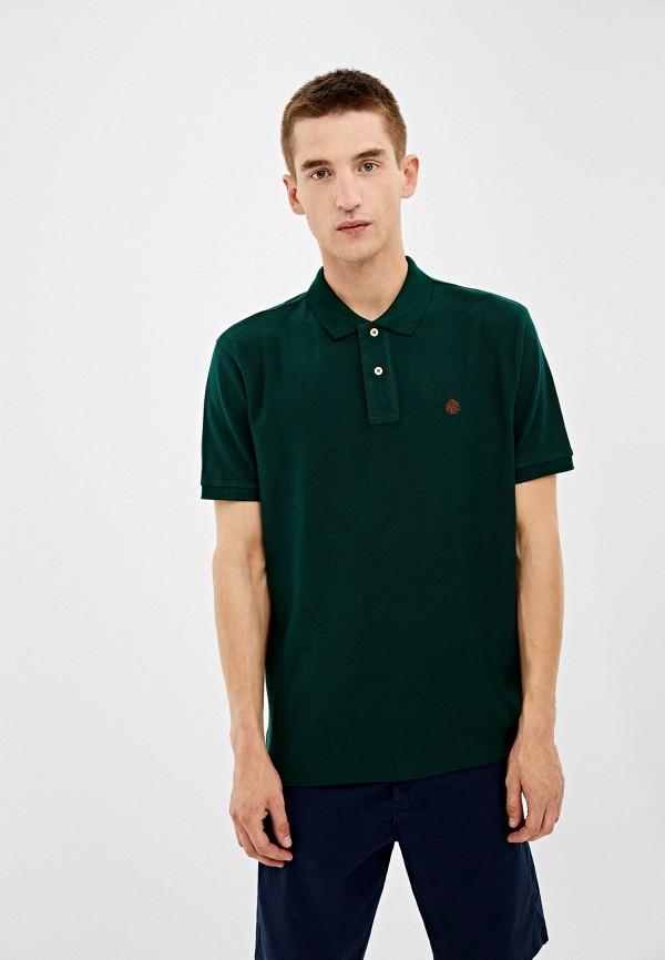 Купить Поло Springfield зеленого цвета