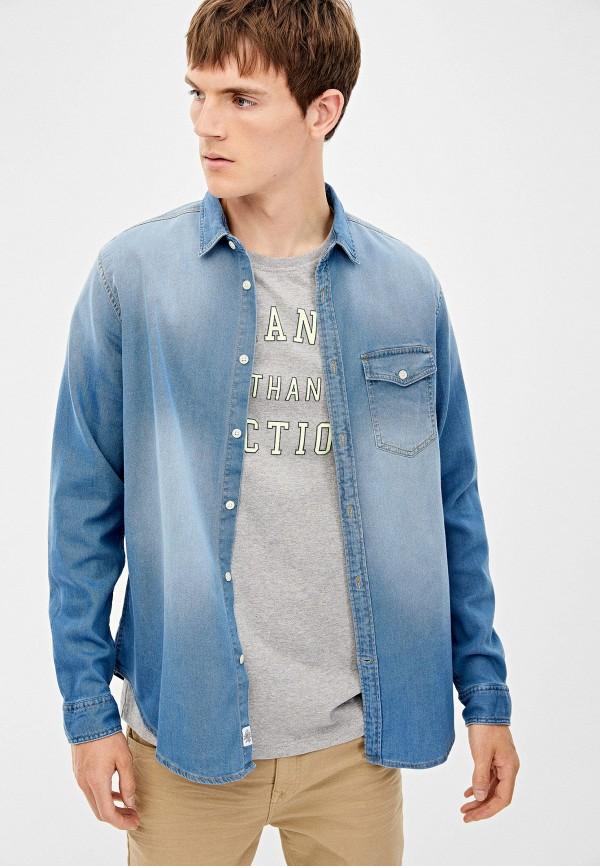 Рубашка джинсовая Springfield Springfield SP014EMGFAY0