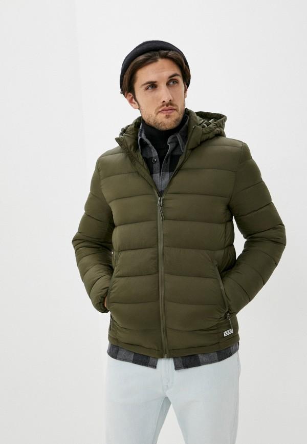 мужская куртка springfield, хаки