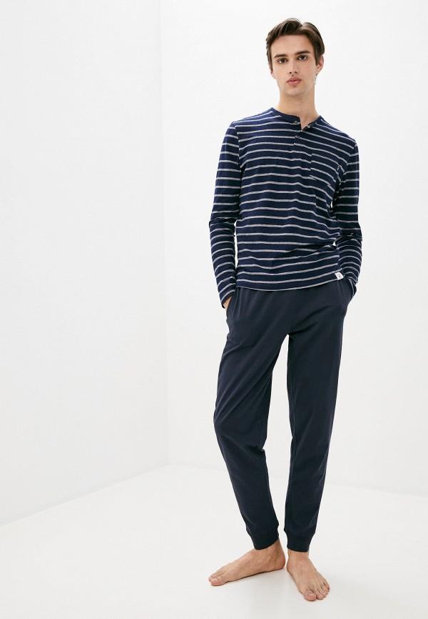 мужская пижама springfield, синяя