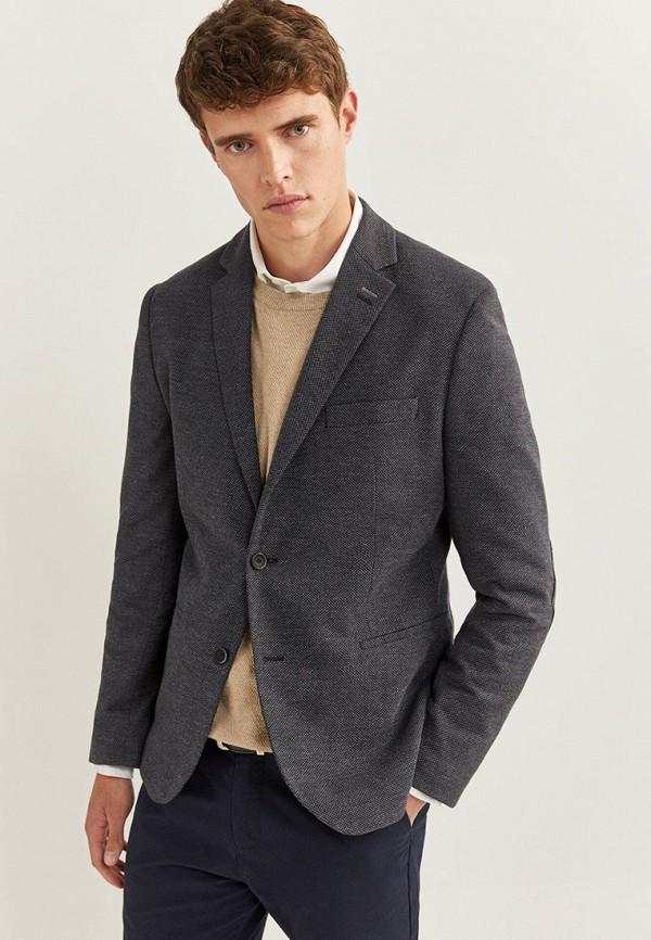 мужской пиджак springfield, серый