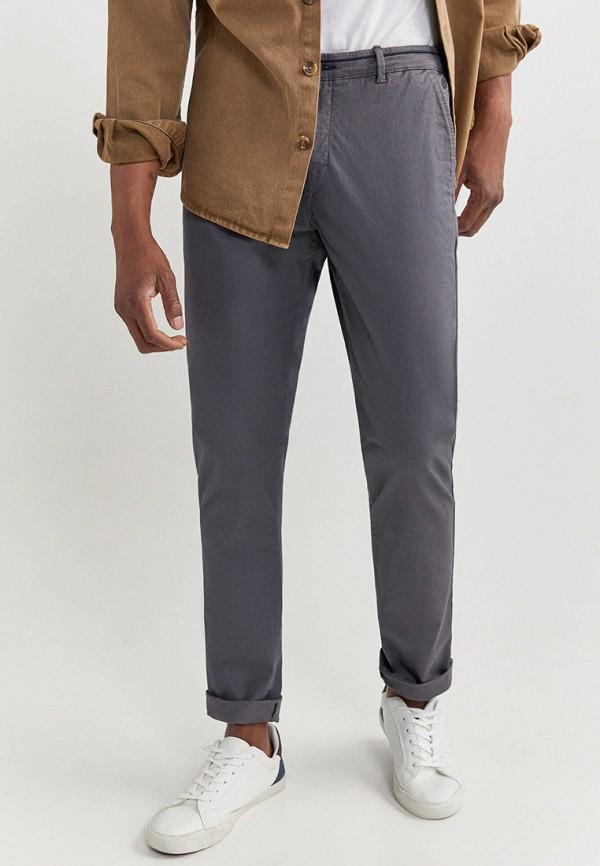 мужские брюки чинос springfield, серые