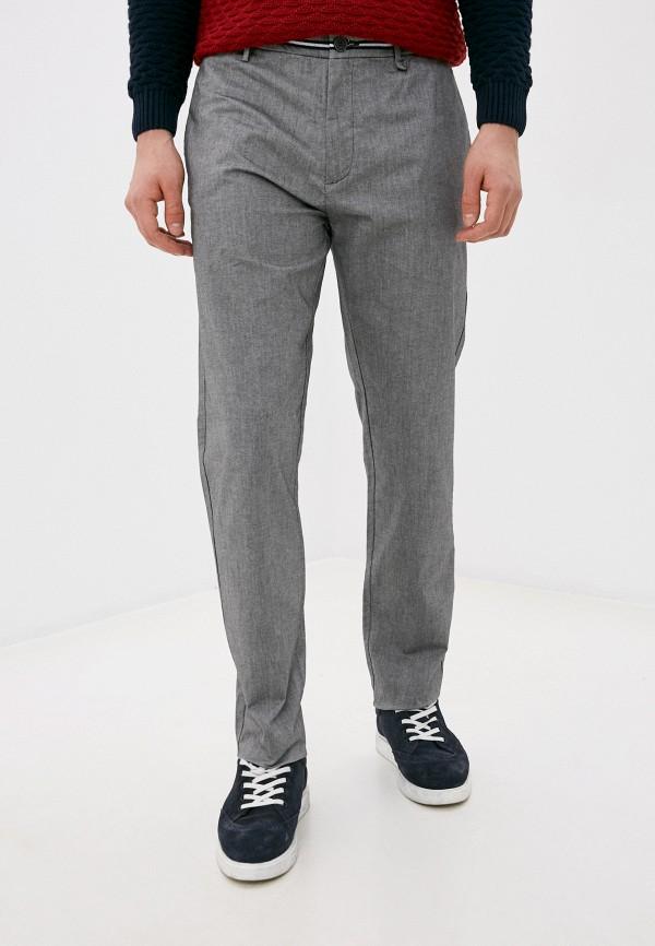 мужские прямые брюки springfield, серые