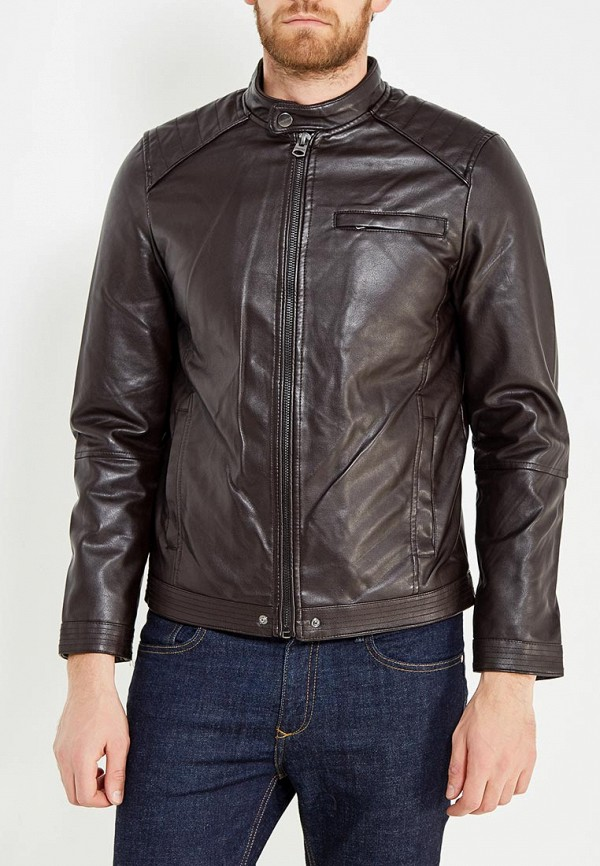 Куртка кожаная Springfield Springfield SP014EMVGD03