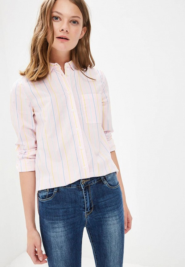 Купить Рубашка Springfield, sp014ewagmt3, розовый, Весна-лето 2018