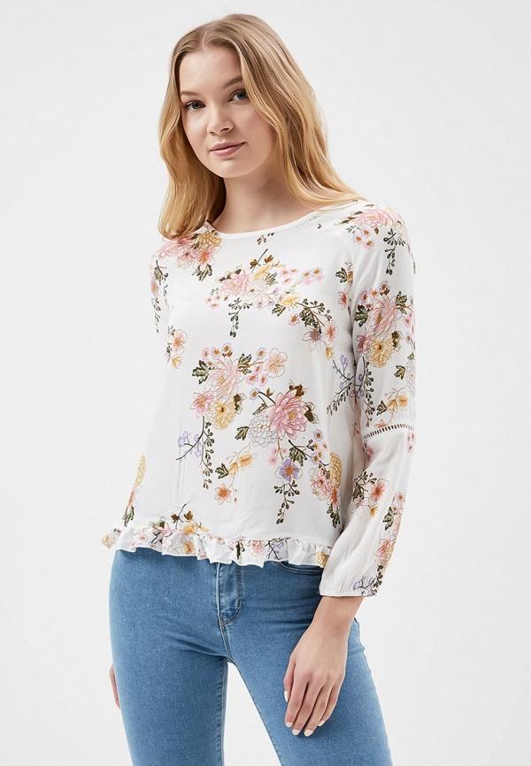 Купить Блуза Springfield, SP014EWAGMT9, белый, Весна-лето 2018
