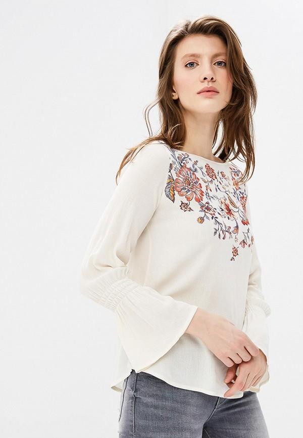 Купить Блуза Springfield, sp014ewagmu2, белый, Весна-лето 2018