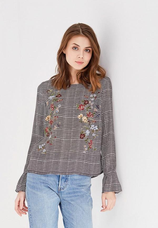 Купить Блуза Springfield, sp014ewagmu6, серый, Весна-лето 2018